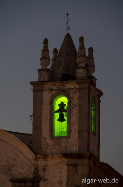 Kirchturm in Tavira, Algarve, Portugal