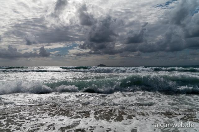 Kalamaki im Sturm, Kreta