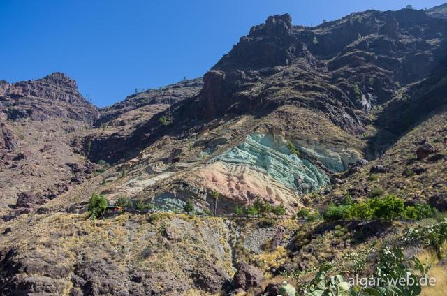 Los Azulejos, Gran Canaria