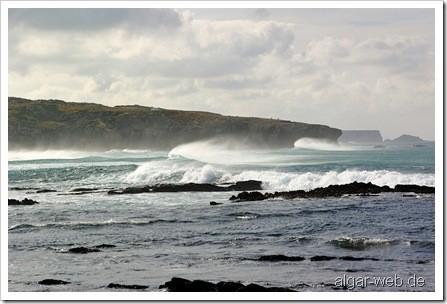Amoreira - ein toller Strand an der Westküste