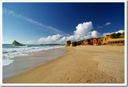 Nicht viel los in Praia da Rocha...