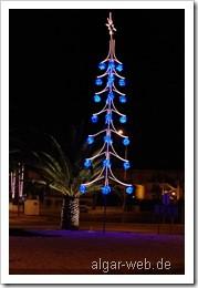 Weihnachtsbeleuchtung in Guia