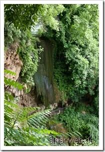 Edessa - Abgeschalteter Wasserfall