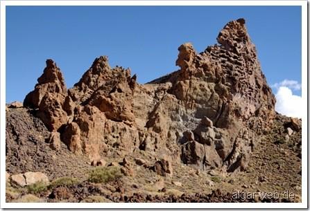 Wunderschöne Mondlandschaften, Los Roques, Teneriffa