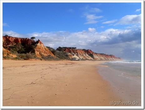 Praia da Falesia, Algarve, Portugal