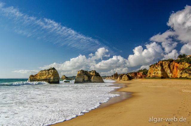 Strand von Praia da Rocha