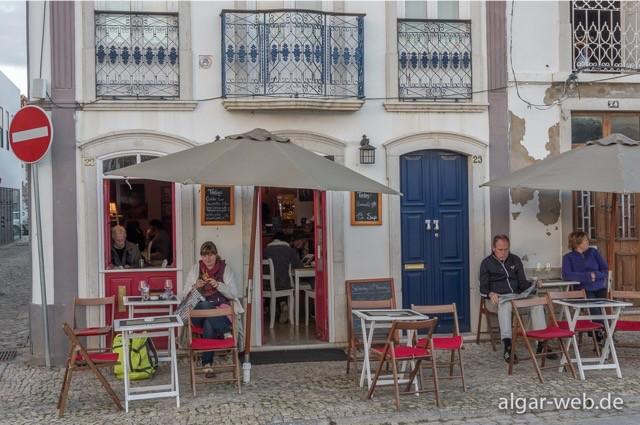 Pessoa's Cafe, Tavira, Algarve