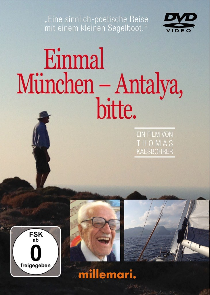 """Cover DVD """"Einmal München - Antalya, bitte."""""""