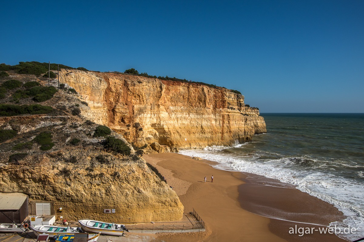 Strand von Benagil
