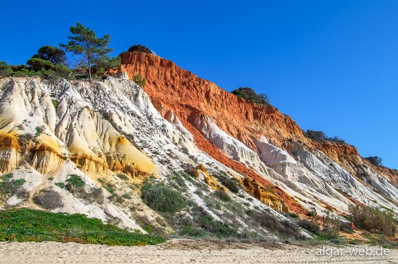 Praia da Falésia - Impressionen