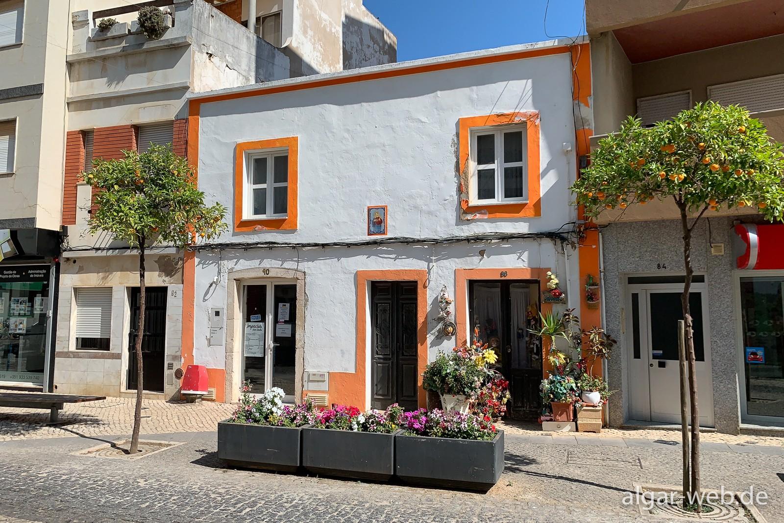 Spaziergang durch die Altstadt von Portimao