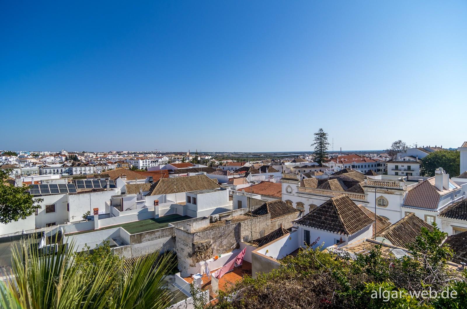 Tavira - Blick über die Dächer